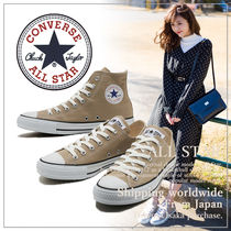 CONVERSE(コンバース) スニーカー 【CONVERSE】コンバース  CANVAS ALL STAR COLORS BEIGE HI/OX
