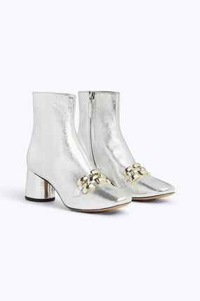 MARC JACOBS シューズ・サンダルその他 ★日本未入荷★ MARC JACOBS/ Remi Chain Link Ankle Boot 本革(4)