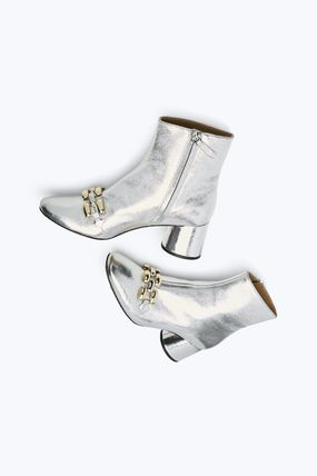 MARC JACOBS シューズ・サンダルその他 ★日本未入荷★ MARC JACOBS/ Remi Chain Link Ankle Boot 本革(5)