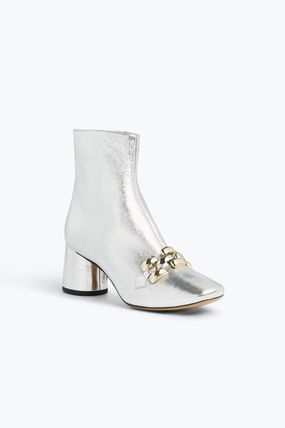 MARC JACOBS シューズ・サンダルその他 ★日本未入荷★ MARC JACOBS/ Remi Chain Link Ankle Boot 本革(6)