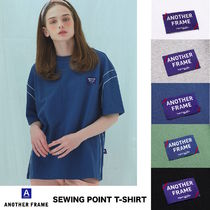 ANOTHER FRAME(アナザーフレーム) Tシャツ・カットソー 韓国発★ユニセックスブランド★ANOTHER FRAME★SEWING POINT T