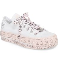 日本未入荷 限定コラボ ! X MILEY CYRUS  ALL STAR LIFT LOW TOP