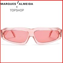 MARQUES ALMEIDA(マルケスアルメイダ) angular-frame sunglasses