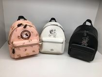 【DISNEYxCOACH】限定☆Minnie Mouse MINI CHARLIEバックパック