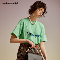 ANDERSSON BELL(アンダースンベル) Tシャツ・カットソー ANDERSSON BELL正規品★18SS シグニチャー刺繍Tシャツ★UNISEX