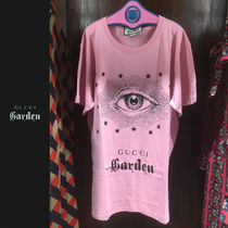 【GUCCI GARDEN 限定】アイモチーフ Tシャツ ピンク