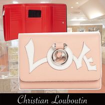 Christian Louboutin Rubylou Love Leather Wallet 関税送料込