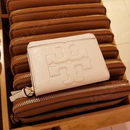 2018SS♪ Tory Burch ★ BOMBE T ZIP COIN CASE