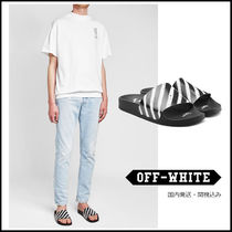 Off-White★スプレープリントスライド★国内発送関税込