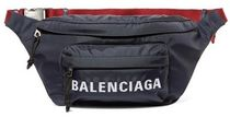 ★関税負担★BALENCIAGA★WHEEL EMBROIDERED SHELL BELT BAG