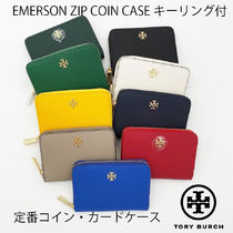 TORY BURCH★EMERSON ZIP COIN CASE キーリング付き*大人気