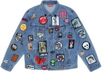 ★Supreme★  Patches Denim Trucker Jacket 18SS  WEEK 13