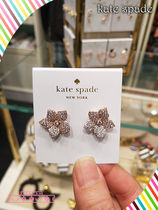 Kate spade☆ BLOOMING PAVE BLOOM STUDS★キラキラピアス3色