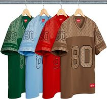SUPREME MONOGRAM FOOTBALL JERSEY SS18
