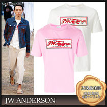 [18SS]送料込◆J W ANDERSON in Florence コットン 半袖Tシャツ