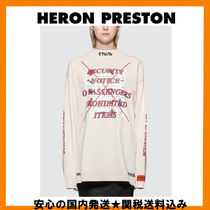 【Heron Preston】Prohibited Items タートルロンT (送関無料)