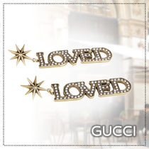 GUCCI★LOVEDペンダントピアス