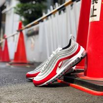 人気話題最新!NIKE AIR MAX 97 METALIC SILVER RED