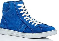 ☆SAINT LAURENT☆ Joe Suede Sneakers