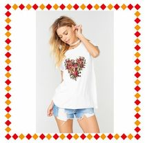 The Laundry Room(ランドリールーム) Tシャツ・カットソー 【関税・送料込】The Laundry Room Heart of Roses Rolling Tee