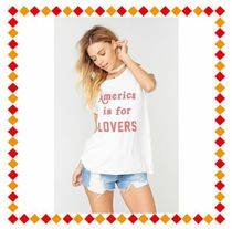 The Laundry Room(ランドリールーム) Tシャツ・カットソー 【関税・送料込】  America Is For Lovers Rolling Tee