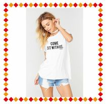 The Laundry Room(ランドリールーム) Tシャツ・カットソー 【関税・送料込】 Come Sit With Us Rolling Tee