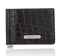 ☆SAINT LAURENT☆Leather Money-Clip Billfold