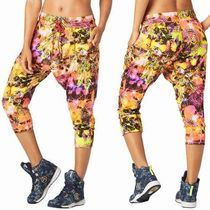 ☆ZUMBA・ズンバ☆Rock Out Cropped Harem Dance Pants PK