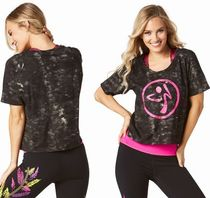 ☆ZUMBA・ズンバ☆Dancing Warrior Tee BK