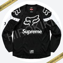 Sサイズ★Supreme Fox Racing Moto Jersey Top ジャージ Black