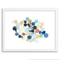 Minted For West Elm - Hexagon Cluster