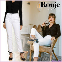【18SS NEW】 Rouje_women SABINAジーンズ / ホワイト