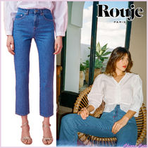 【18SS NEW】 Rouje_women SABINAジーンズ / ブルー