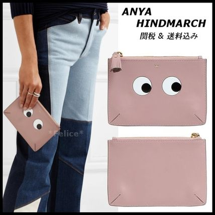 *ANYA HINDMARCH*SMALL EYES LOOSE POCKET 関税/送料込
