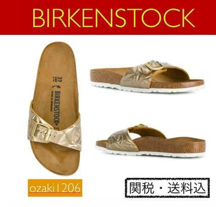【夏前セール!】metallic sandals★BIRKENSTOCK  platin BIG