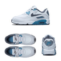 ★NIKE KIDS★Air Max 90 Leather (12-16㎝)★追跡可 833416-018
