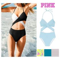 【PINK】ヴィクシー ワンピース水着 BODY WRAP ONE-PIECE