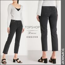 【国内発送・関税込】TOPSHOP★Straight high-rise jeans