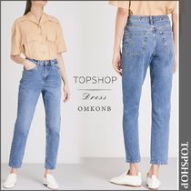 【国内発送・関税込】TOPSHOP★Mom-fit tapered high-rise jeans