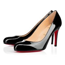 安心送料関税込! Christian Louboutin Simple Pump Patent 85