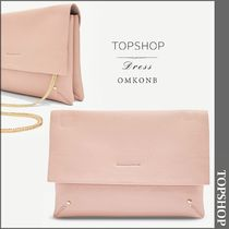 【国内発送・関税込】TOPSHOP★Leila faux-leather clutch