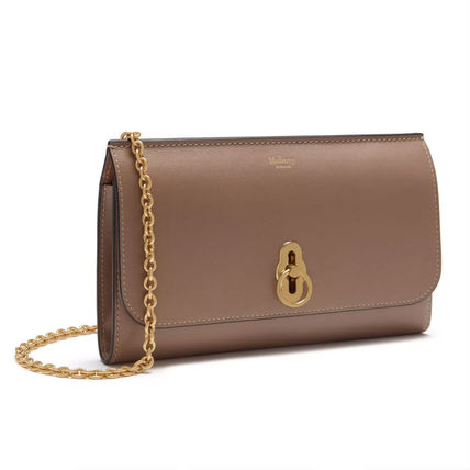 Mulberry 長財布 Mulberry Amberley Clutch チェーンウォレット 送料込(2)