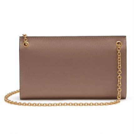 Mulberry 長財布 Mulberry Amberley Clutch チェーンウォレット 送料込(4)
