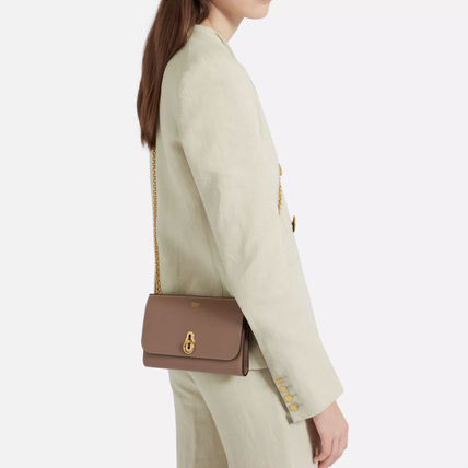 Mulberry 長財布 Mulberry Amberley Clutch チェーンウォレット 送料込(5)