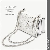 【国内発送・関税込】TOPSHOP★Betty studded faux-leather bag