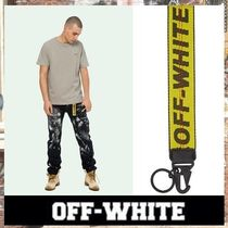 《最新作!!》18AW [OFF-WHITE] Industrial キーチェーン/ Yellow
