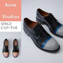 ACNE Serge Cap-toe Derby Shoes キャップトゥダービーシューズ