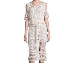 See by Chloe Cold-shoulder Crochet Cotton Dress関税送料込み