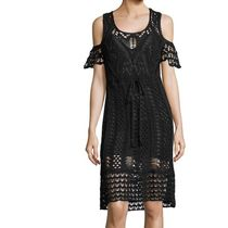 See by Chloe Cold-shoulder Crochet Cotton Dress 関税送料込み