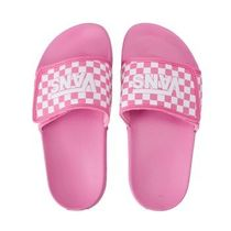 国内配送 VANS KIDS OVERS CHECKER PINK